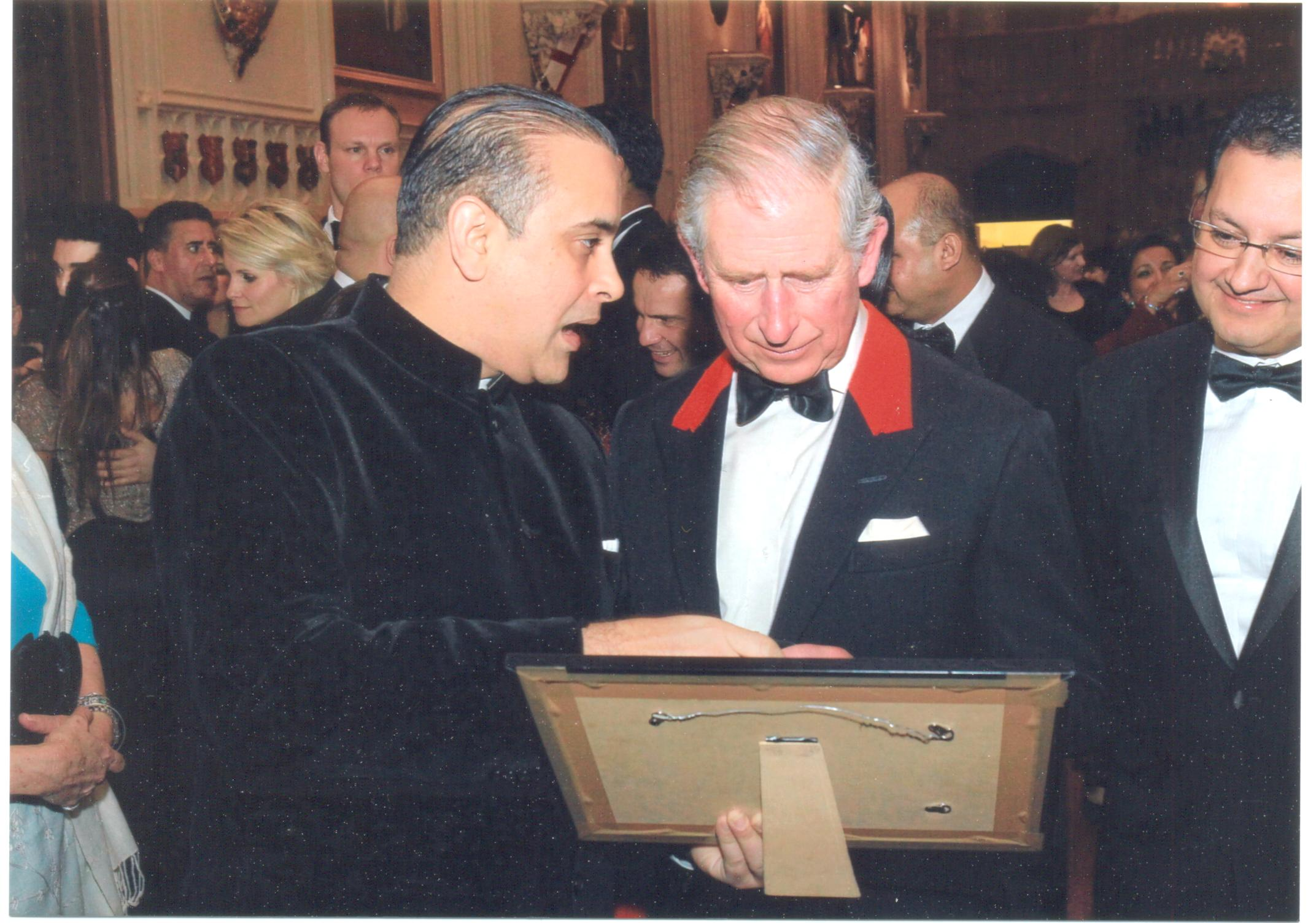 %name An Evening with Prince Charles