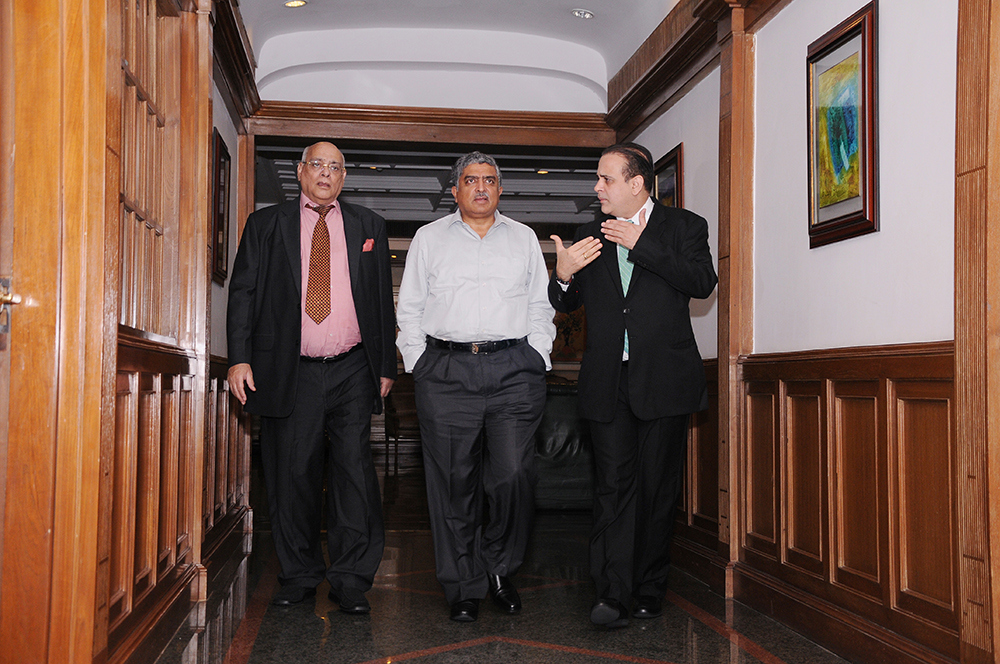 vin 0336 A day with Mr. Nandan Nilekani at Escorts!