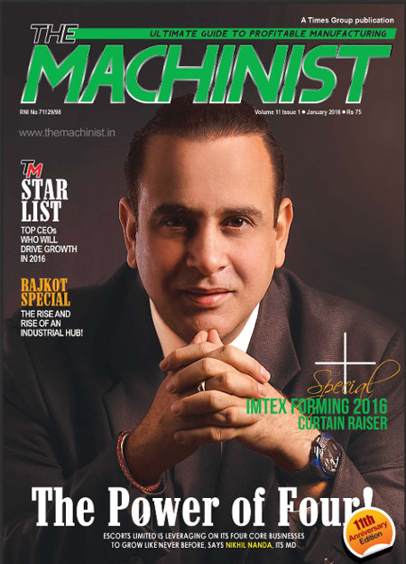 machinist Click below to read cover story on Mr. Nikhil Nanda, published in the Machinist Magazine